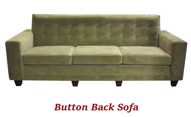 Button Back Sofa - MBU Furniture Line