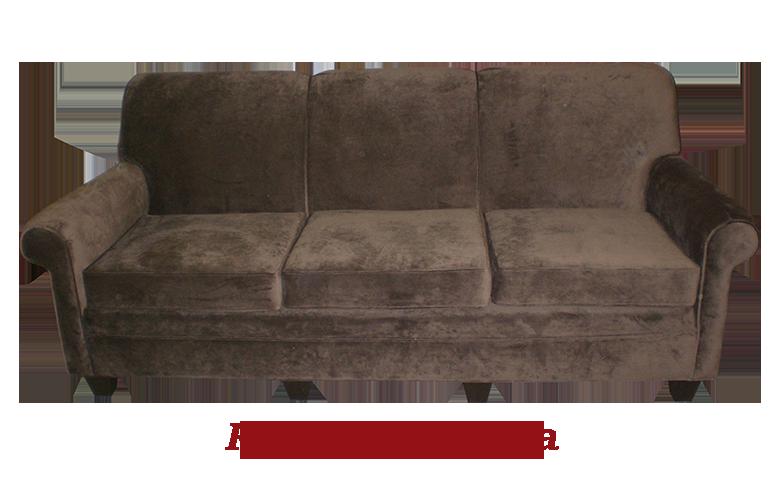 Rolled Back Sofa - MBU Furniture Line
