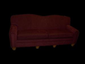 MBU Line Heart Back Sofa