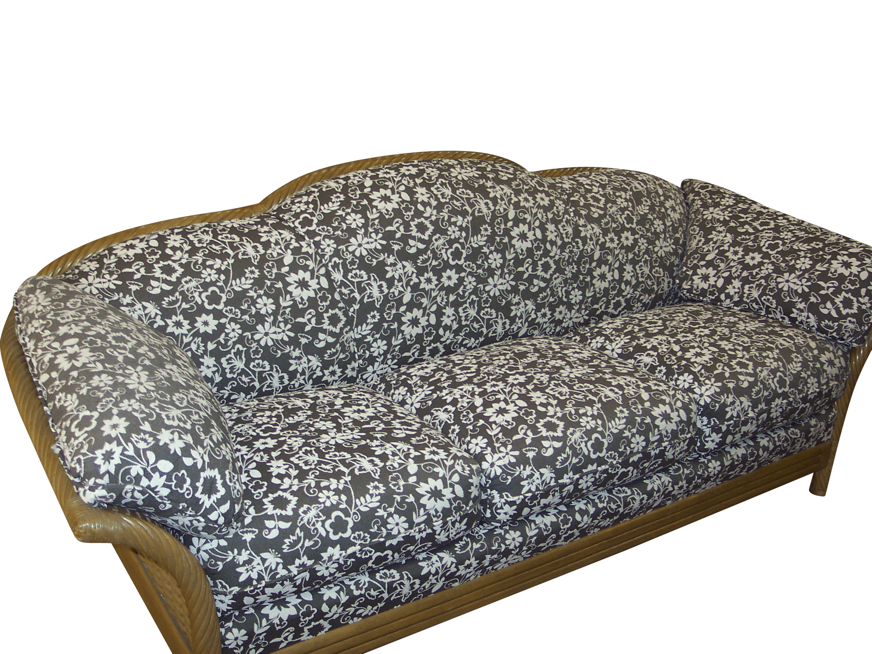 Re-upolstery of a sofa