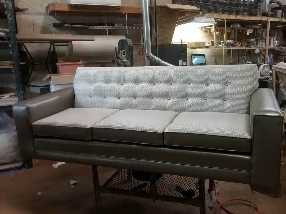 Sofa And Loveseat With Mix And Match Fabrics Mbu Interiors