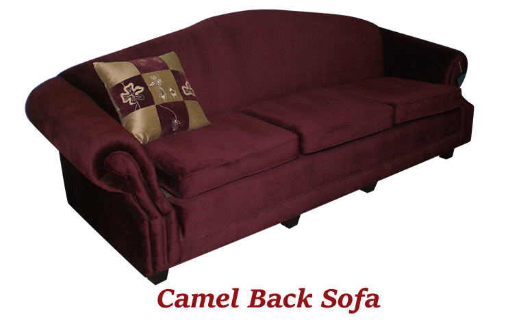 Camel Back Sofa - MBU Furniture Line