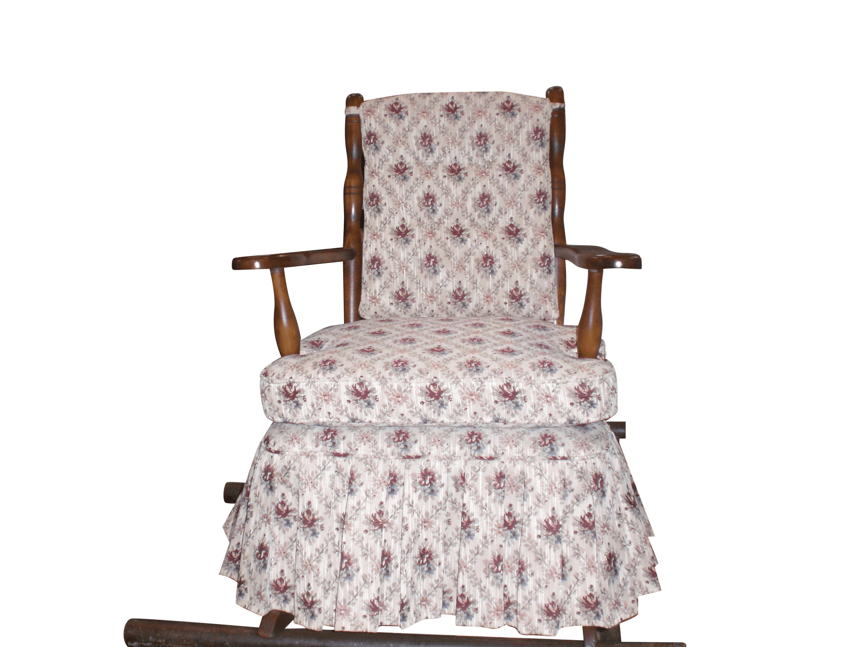 Re-upolstery of wood framed chair
