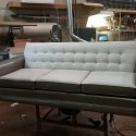 Sofa and Loveseat with mix and match fabrics