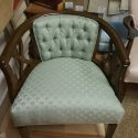 Re-upholstery of 2 wood framed chairs