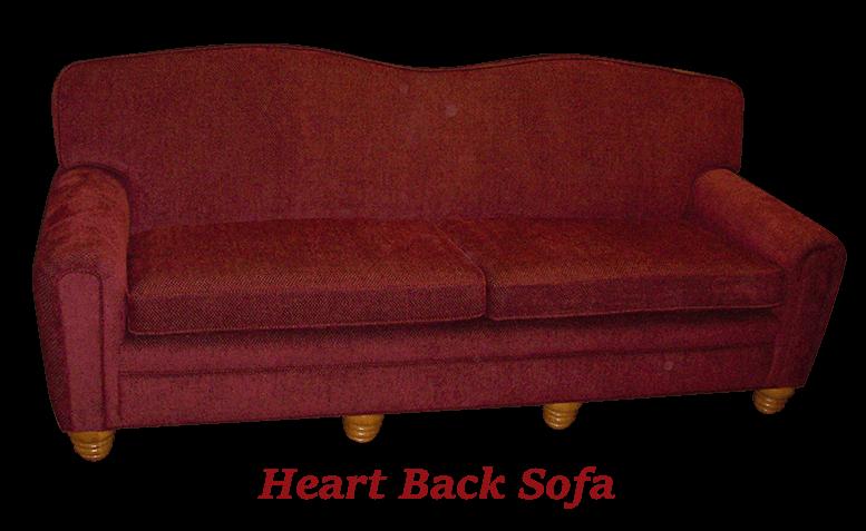 Heart Back Sofa 2 - MBU Furniture Line
